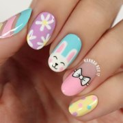 simple & easy easter nails