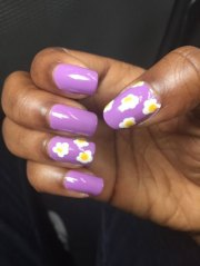 simple & easy spring nails