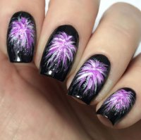 10+ Amazing 4th of July Fireworks Nail Art Designs & Ideas ...
