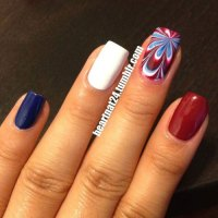 15+ Simple 4th of July Nails Art Designs & Ideas 2018 ...