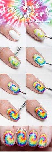 easy summer nail art tutorials