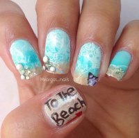 Summer Beach Nails Art Designs & Ideas 2018