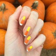 easy & simple halloween nails