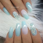 summer gel nail art design