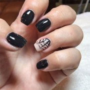 easy & simple halloween nails art
