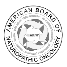Welcome to the American Board of Naturopathic Oncology (ABNO)