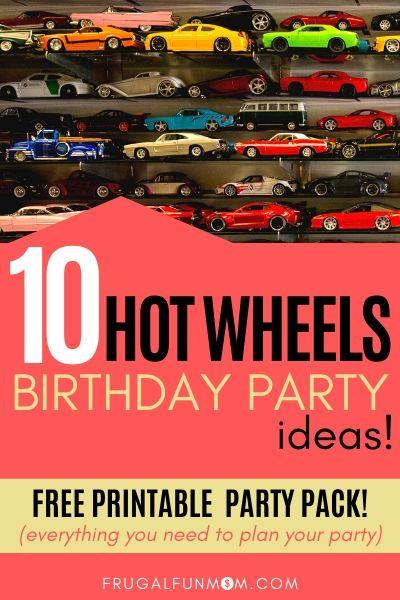 Hot Wheels Birthday Party Ideas | Frugal Fun Mom