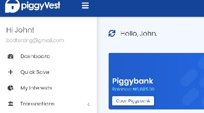 Piggyvest introduce bank account number : earn while you save. finally piggyvest has introduced bank account number for funding your piggyvest account