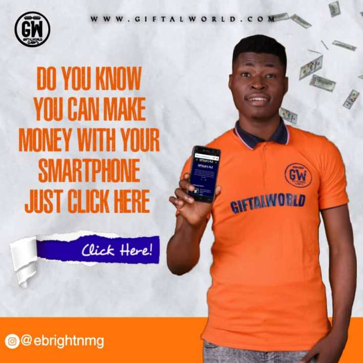 How To Make 50k Daily Online Using Giftalworld.  As the year 2020 begins i know many may still be wondering and asking