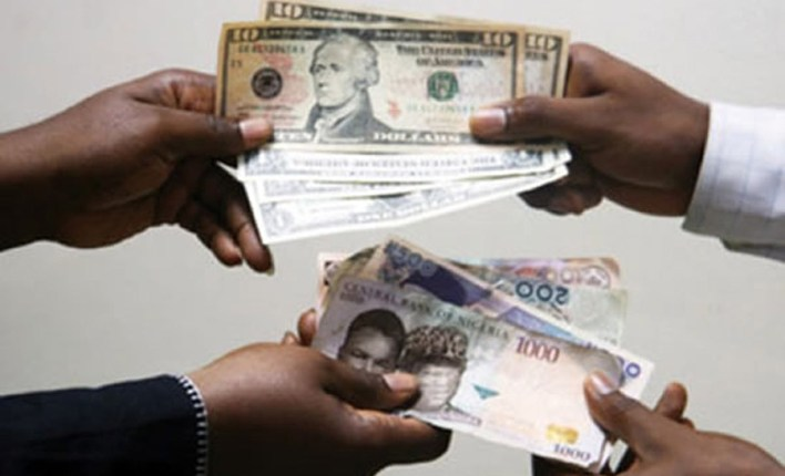 Nigeria's naira gains against the dollar, as CBN closes in on currency speculators.  Note that the N441 exchange rate is stronger than N450 to a $1 that was posted