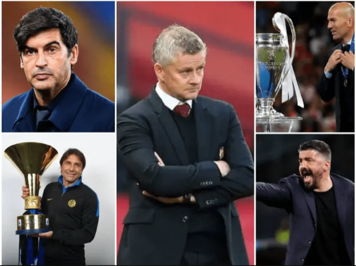 4 Unemployed coaches who could replace Solskjaer and take United back to the top