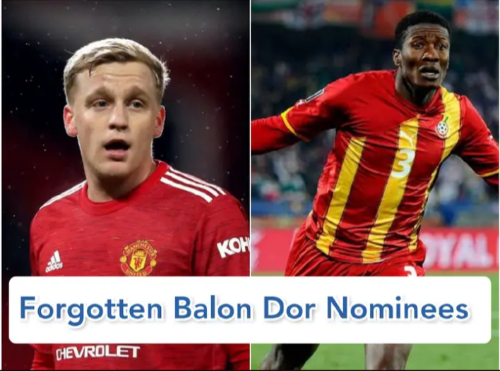 6 Players You Probably Didn't Know Were Once Nominated For Balon D'or