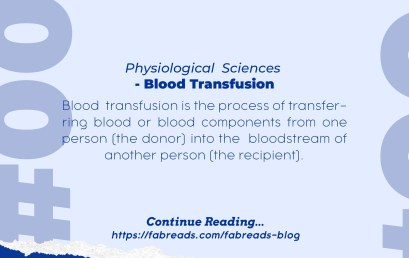 FabReads Digest with Clinical Sciences – 005 (Blood Transfusion)