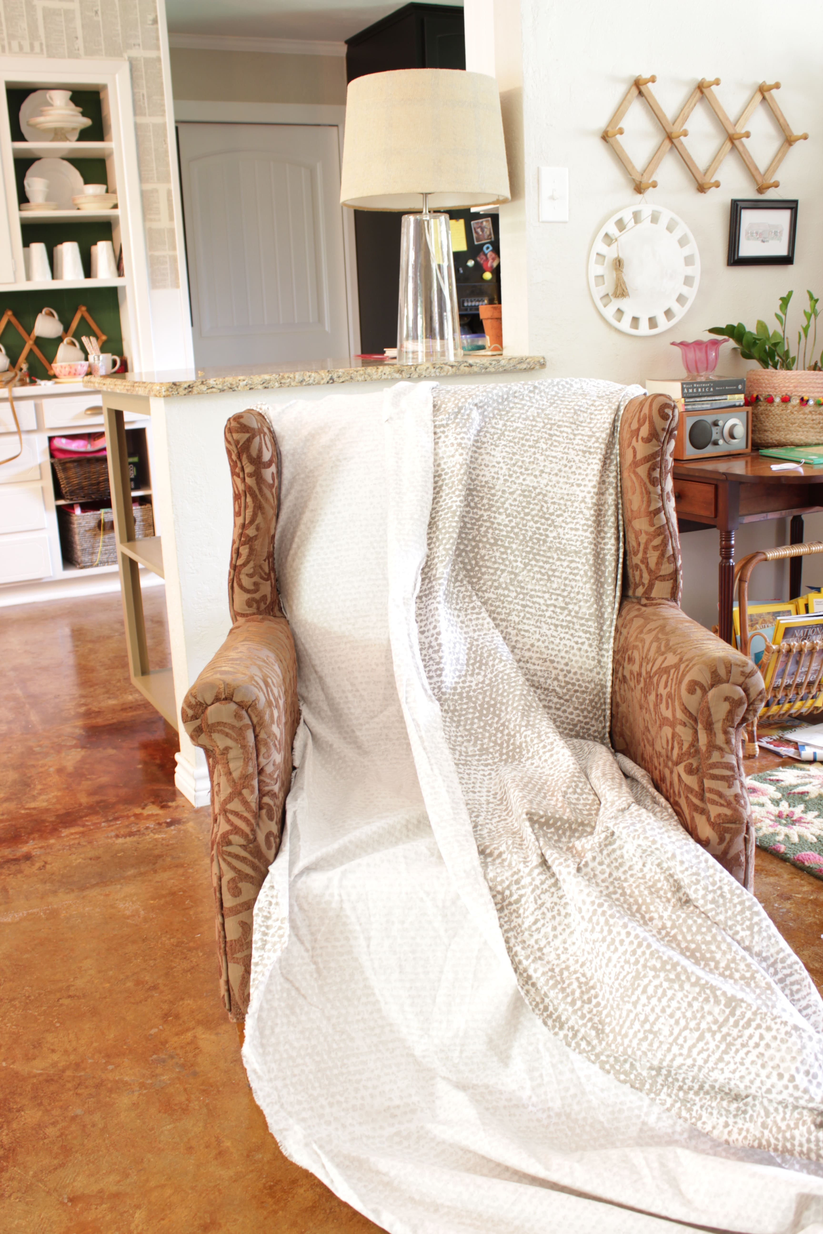 Wingback Chair Covers