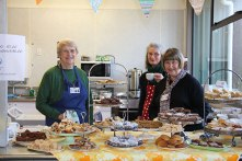 Lovely volunteers at Fabric-a-brac Auckland 2014