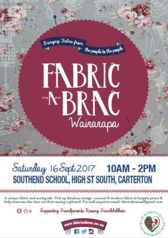 Fabric-a-brac Wairarapa - Saturday 16 September 2017