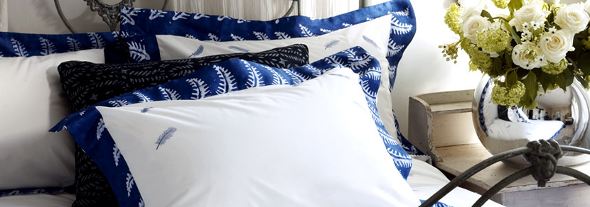 Royal Hut batik bed pillows