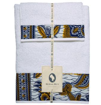 Royal Hut's batik bath towels