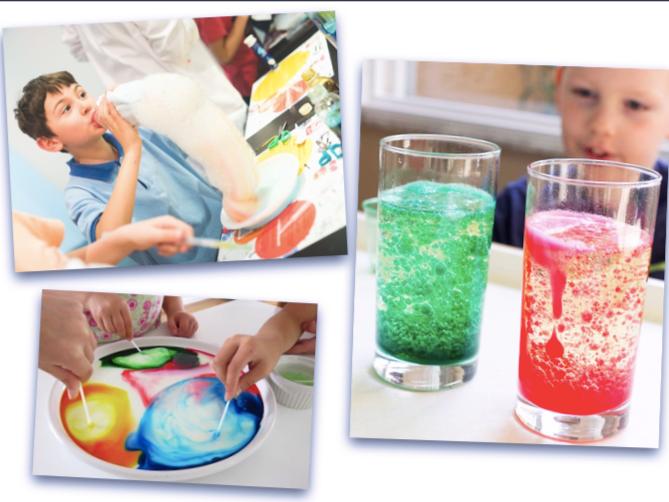 Experimente chimice pentru cadoul perfect