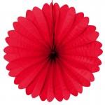 rosace-eventail-rouge-en-papier