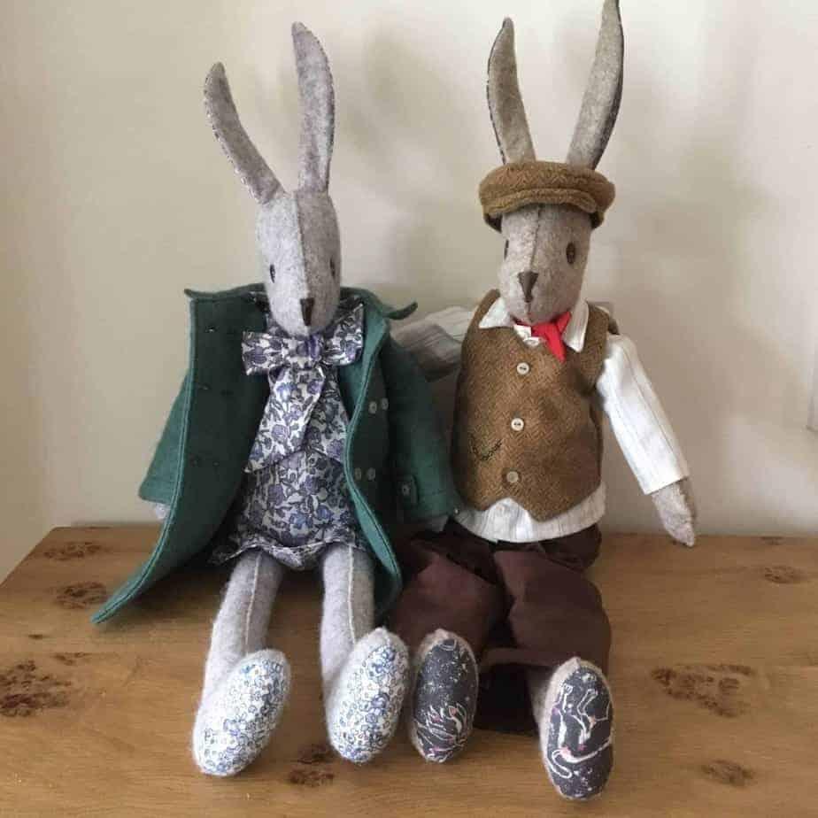 Luna and Alfie Rabbit