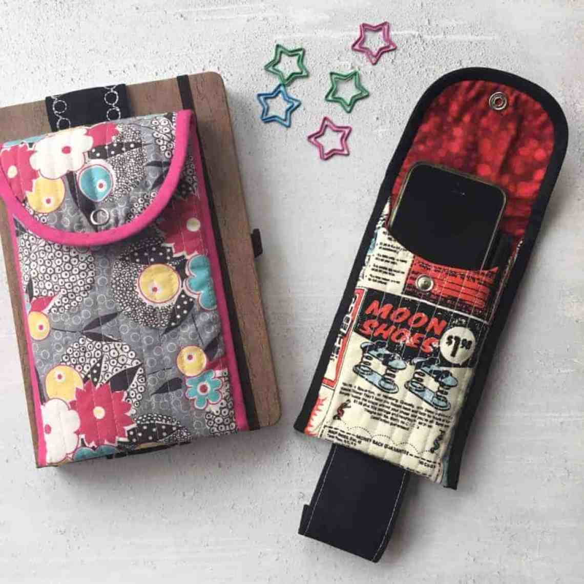 Pencil case for your notebook - the Notebook Buddy by fabricandflowers   Sonia Spence
