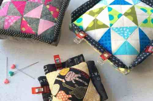 Clip'n'Pincushion by fabricandflowers | Sonia Spence