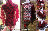 Crochet Skull Shawl Free Pattern & Video