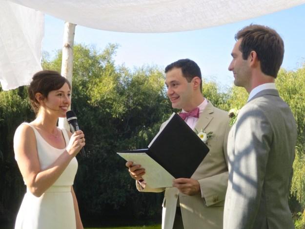 Adam and Dani's Wedding Ceremony