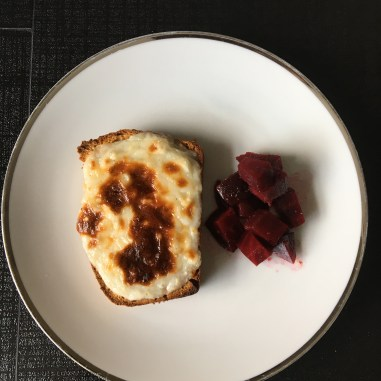 Beetroots and Goat's Cheese