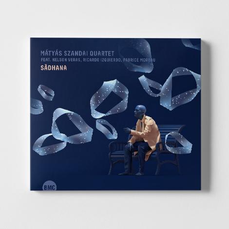 Mátyás Szandai Quartet - Pochette de l'albun Sādhana