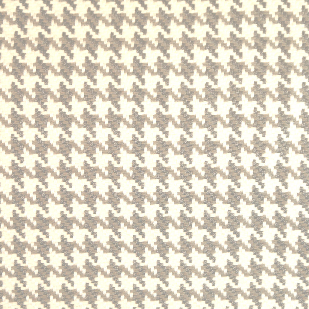 houndstooth sofa fabric extra long table storage charcoal store designer and