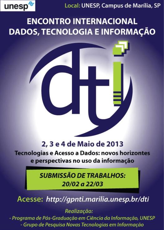 Encontro Internacional Dados, Tecnologia e Informação
