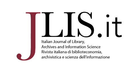 Italian Journal of Library, Archives and Information Science