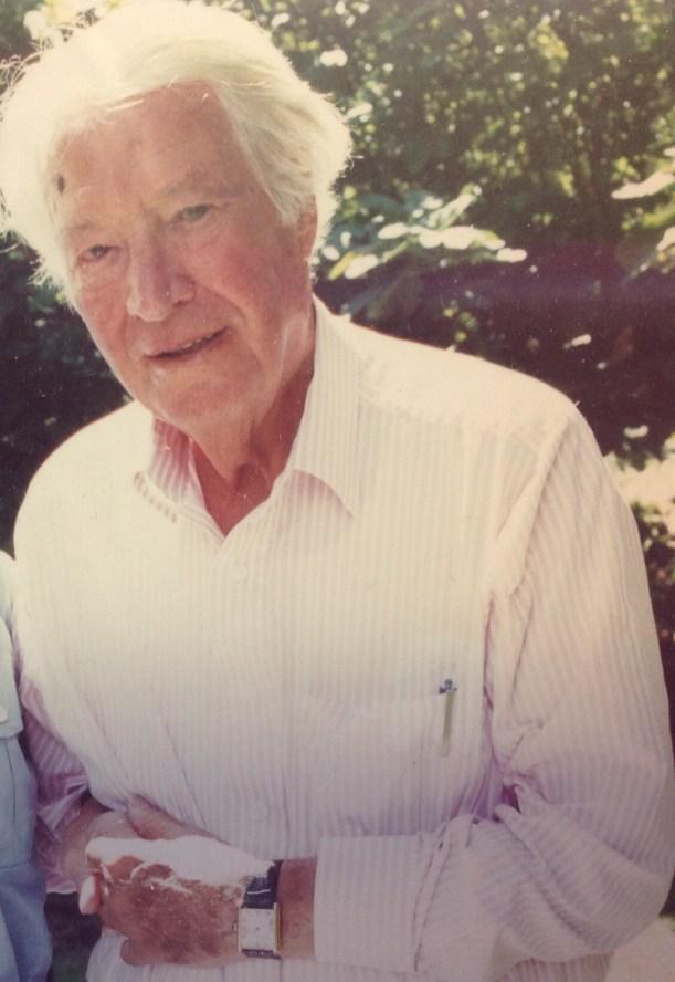 My my father, Druce Barlow