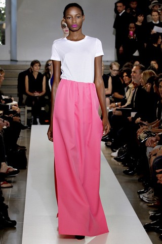 Jil Sander evening dress