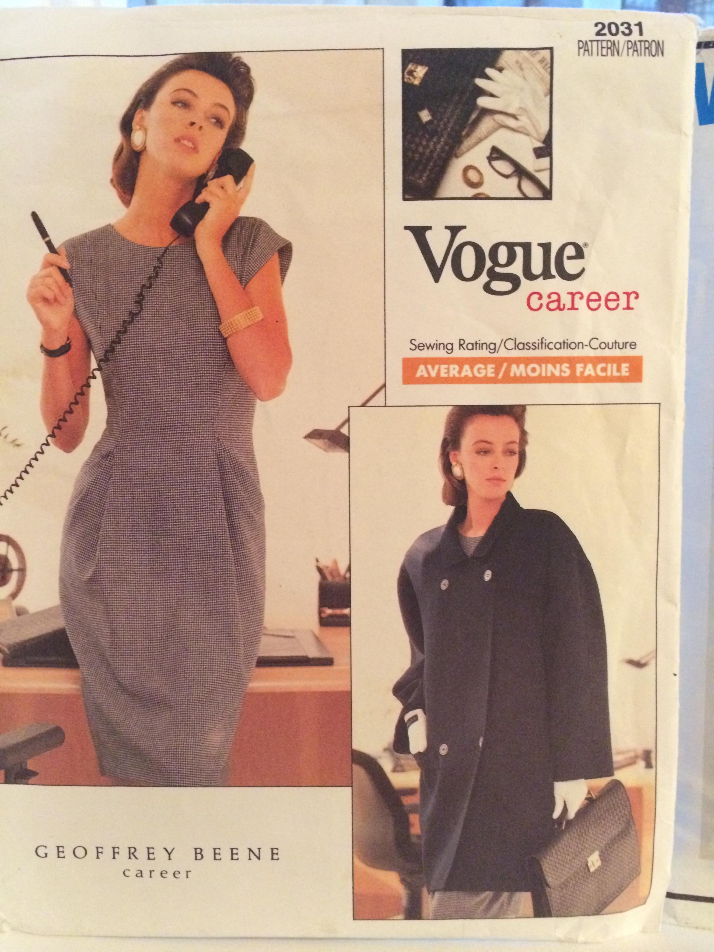 5. Vogue 2031 Geoffrey Beene