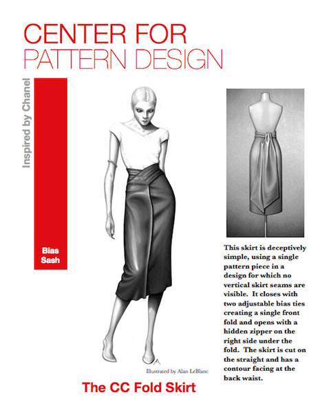 Centre for Pattern design skirt