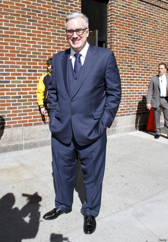 Man in over large suit