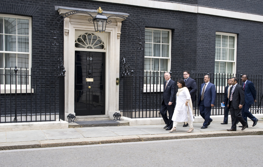 "Baroness Warsi and the Sari – did it help her to ""flounce""?"