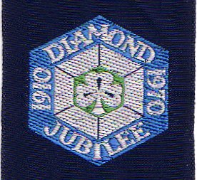 Girl Guides Diamond Jubilee badge
