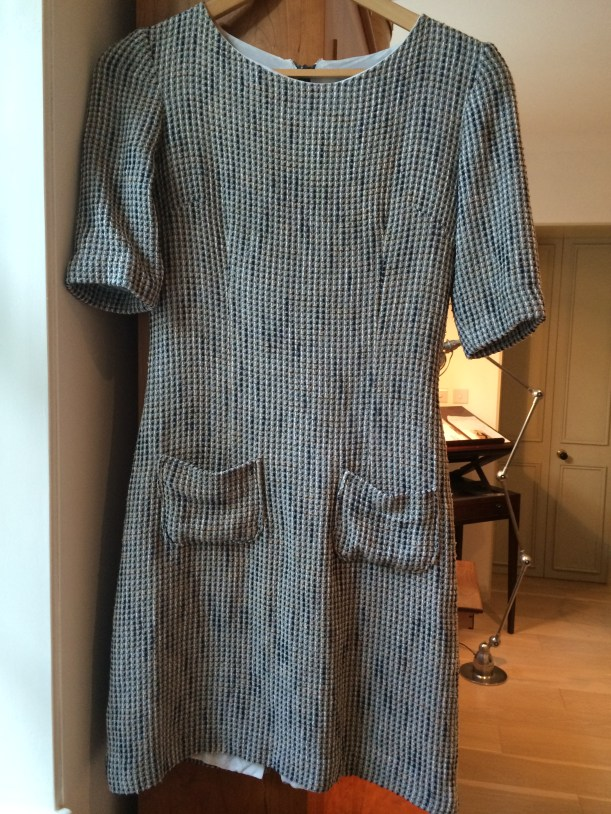 Butterick 4386 in grey boucle