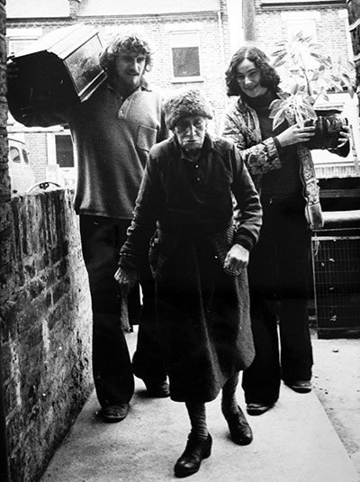1960s hippy volunteers at Notting Hill Housing