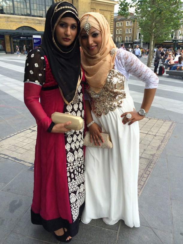 Young Bangladeshi bride and her sister, London