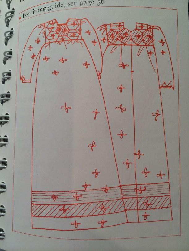 Ann Ladbury patchwork christening robe