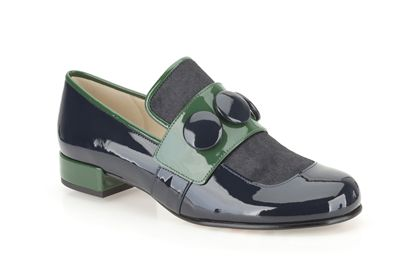 green and black Orla Keily shoe