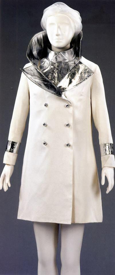 gaberdine mini dress and coat by John Bates