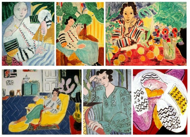 Matisse paintings of Romanian Blouse