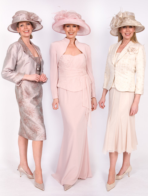 Mother of the Bride outfits  - pastel shades