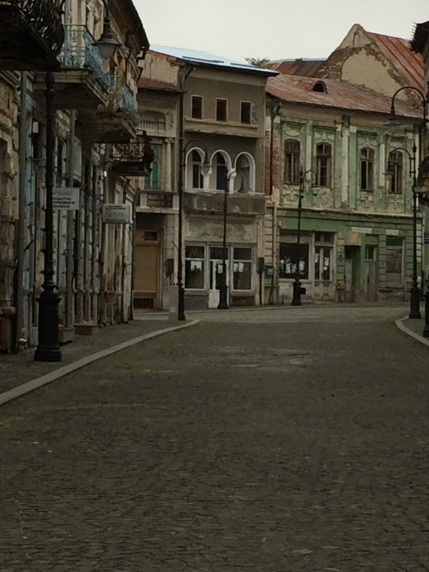 Historic centre of Slatina, Romania